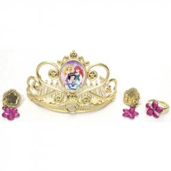 Księżniczki Disneya - Złota korona i biżuteria dla księżniczki