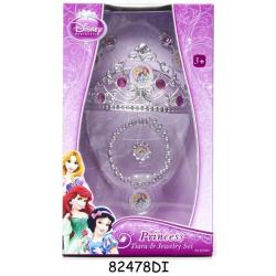 Księżniczki Disneya - Zestaw z koroną i biżuterią