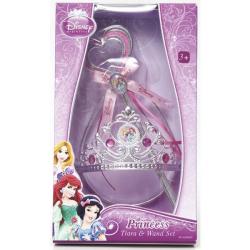 Księżniczki Disneya - zestaw z koroną i różdżką