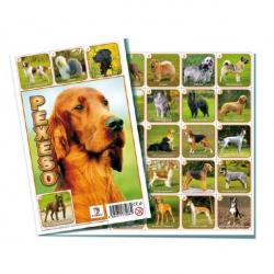 Pexeso Psy spoločenská hra 32 obrázkových dvojíc