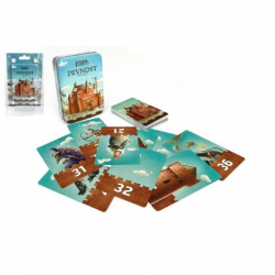 Pevnost Fort karetní společenská hra v plechové krabičce 7,5x11cm 6+ STRAGOO