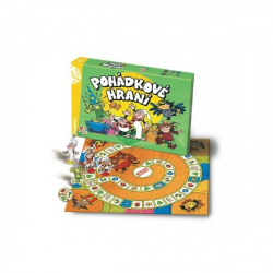 Rozprávkové hranie Večerníček spoločenská hra v krabici 35x23x4cm