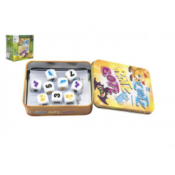 Catz-Ratz-Batz spoločenská hra v plechovej krabičke 8x10x4cm v krabičke 13x13x8cm