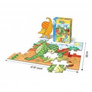 Puzzle Maxi Prehistoric Junior 66x47cm 30 dílků v krabici 19 x 28 x 6,5 cm
