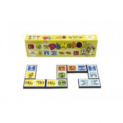 Domino Poď s nami do rozprávky 28ks spoločenská hra v krabičke 21x6x3cm