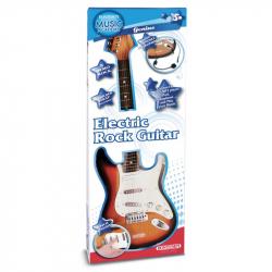 Gitara rocková elektrická s mikrofónom