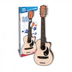 Folková gitara šesťstrunová