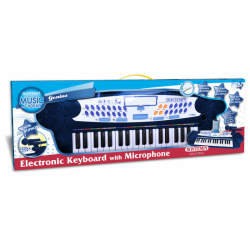 Elektronické klávesy s mikrofónom