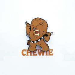 3D Mini svetlo EP7 - Star Wars Chewie