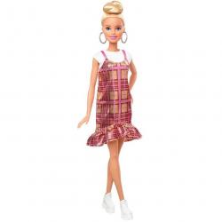 Barbie Modelka - plédové šaty