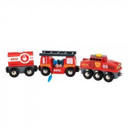 Pociąg straż pożarna