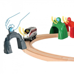 Pociąg z tunelem, zestaw duży
