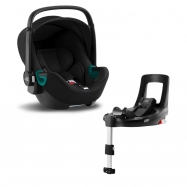Autosedačka Baby-Safe 3 i-Size Bundle Flex iSense, Space Black