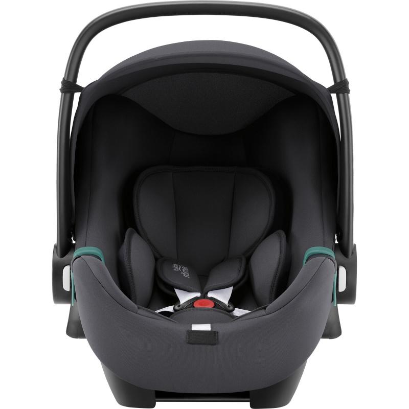 Autosedačka Baby-Safe 3 i-Size Bundle Flex iSense, Midnight Grey
