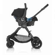 BRITAX Kočárek B-Motion 4 2017, Blue denim