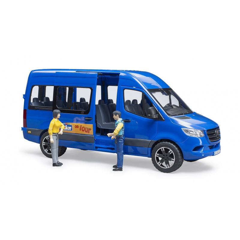 Bruder Mercedes-Benz Sprinter minibus s řidičem a cestujícím