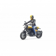 Bruder BWORLD Motocykel Ducati Scrambler s jazdcom mierka: 1: 16