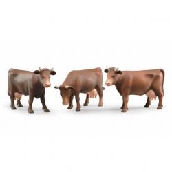 Bruder - Figúrka krava - hnedá