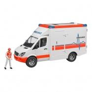 Bruder Ambulans Karetka Z Figurką Ratownika Mercedes Sprinter