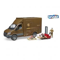 Bruder - MB SPRINTER UPSs řidičem a příslušenstvím