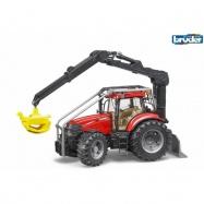 Bruder - Lesní traktor CASE