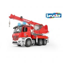Bruder - MB AROCS hasičský jeřáb