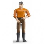 Bruder - Figurka muž - hnědé kalhoty