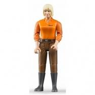 Bruder - Figurka žena - hnědé kalhoty