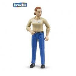Bruder - Figurka žena - modré kalhoty