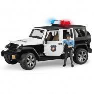 Bruder Jeep policja figurka zabawka światła