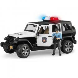 Bruder - Jeep Wrangler Rubicon Polícia