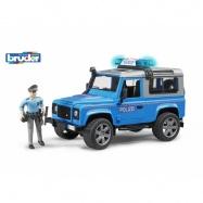 Bruder - Auto Land Rover polície s figúrkou
