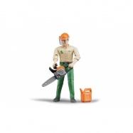 Buder figurka - lesní dělník