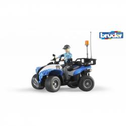Bruder - Niebieski quad policyjny