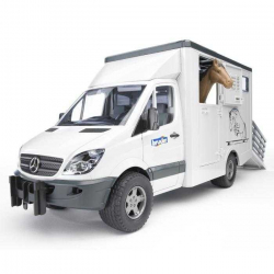 Bruder - MERCEDES BENZ Sprinter-prepravník na kone