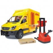 Bruder - MERCEDES BENZ Sprinter- přepravník DHL