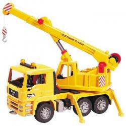 Bruder - Nákladní auto MAN - jeřáb stavební