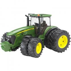 Bruder - Traktor JOHN DEERE 7930 + prídavná kola