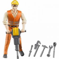 Bruder figurka - lesní stavební dělník