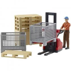 Bruder - Logistický set, figurka