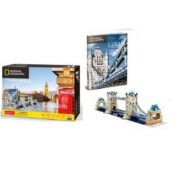 Puzzle 3D NG Tower Bridge - 120 dielikov