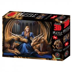 Puzzle 3D 150 dielikov Divoká vernosť