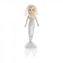 Látková Mořská panna Třpitivá nevěsta 46 cm