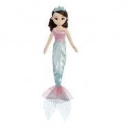 Látková Mořská panna Tyrkysová princezna 46 cm