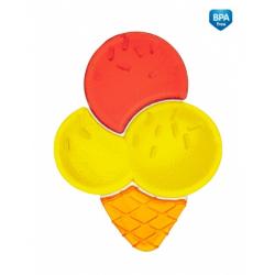 Hryzátko vodné zmrzlina - žlto-červená