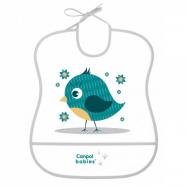 Plastový podbradník s vreckom Cute Animals - Ptáček