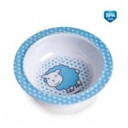 Melamínová miska s prísavkou Canpol Babies - Ovečka