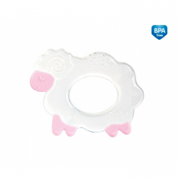 Kousátko silikonové Canpol Babies - Ovečka - růžové