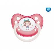 Dudlík anatomický Canpol Babies 0-6m A, Toys -  panenka růžová