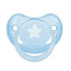 Dudlík Canpol Babies - Pastel 18m+ - modrý